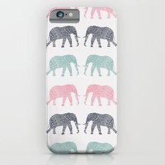Elephant Pattern iPhone 6s Slim Case
