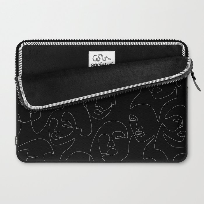 Face Lace Laptop Sleeve