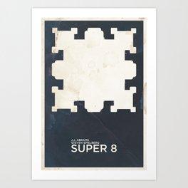 J.J. ABRAMS & Steven SPIELBERG's SUPER 8 Art Print