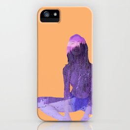 Morning Pose iPhone Case
