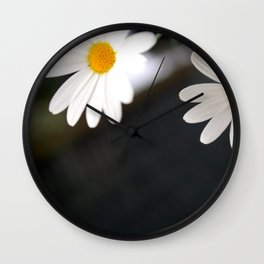Flowers from the garden Wall Clock