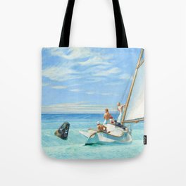Ground Swell OIl Painting by Edward Hopper Tote Bag