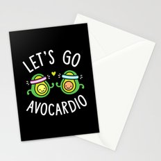 Let's Go Avocardio Stationery Cards