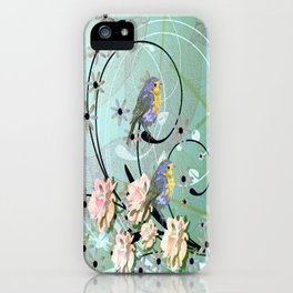 The Chickadee's Serenade iPhone Case