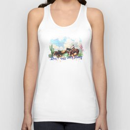 Don't. Mess with Texas Unisex Tank Top