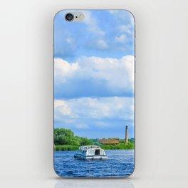 Sailing The Norfolk Broads, U.K iPhone Skin