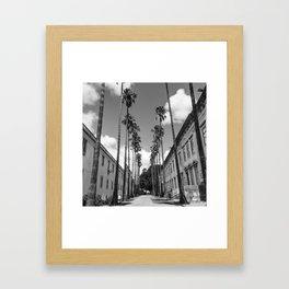 Lisbon street Framed Art Print