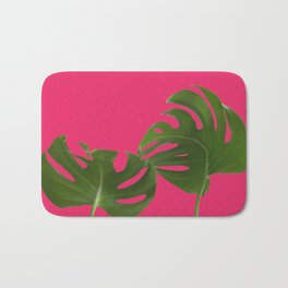 Monstera madness VI Bath Mat