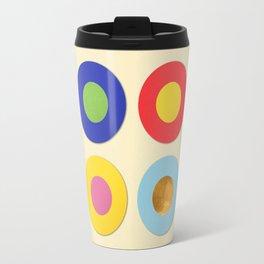 Four Dots & Gold Travel Mug