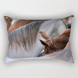 Horsin' Around Rectangular Pillow