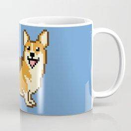 8-Bit Corgi Coffee Mug