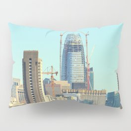 The Salesforce Tower Pre - View Pillow Sham