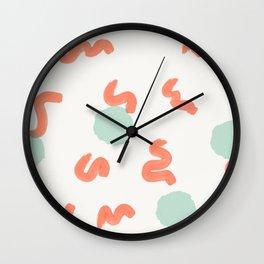 Earthworm Soup Wall Clock