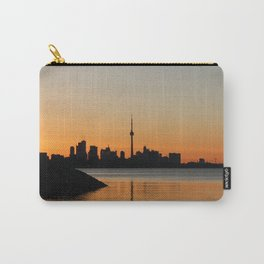 Toronto Sunrise Carry-All Pouch