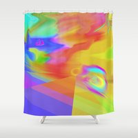 journey Shower Curtains featuring Journey by Geni