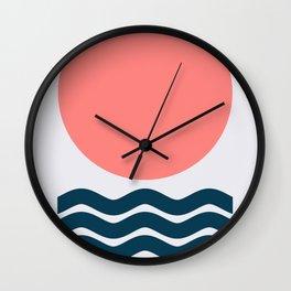 Geometric Form No.9 Wall Clock