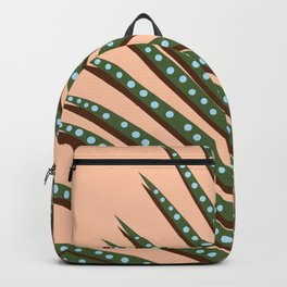 Watercolor tropical leaf III Backpack