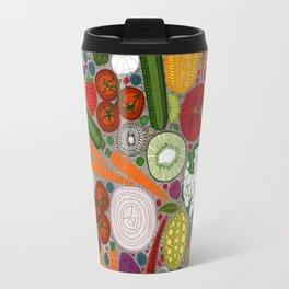 the good stuff taupe Travel Mug