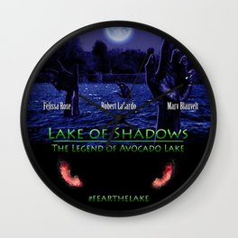 Lake of Shadows Wall Clock
