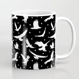 Eagle Dots // Black Coffee Mug