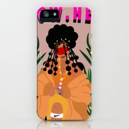 Flow. Hers iPhone Case