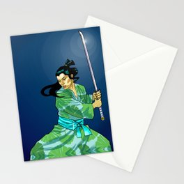 Eternal Samurai I Stationery Cards