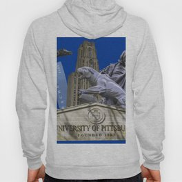 Pittsburgh Campus Collage Photography Print Hoody