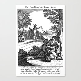 Parable of the Tares Canvas Print