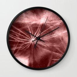 Dandelion Art Picture Wall Clock