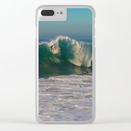 And the Bottom Drops Out Clear iPhone Case