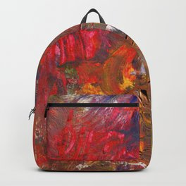 Victory Garden Abstract Painting Backpack