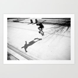 Skateboard Key Art Print