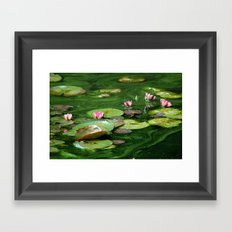 Water Colors Framed Art Print