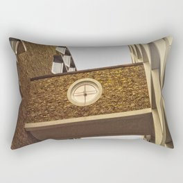 Architecture in Ulm Rectangular Pillow