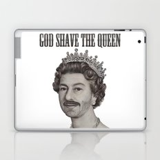 God shave the Queen Laptop & iPad Skin