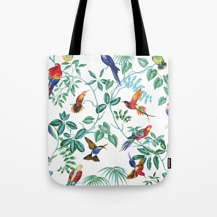 Jungle Birds II Tote Bag