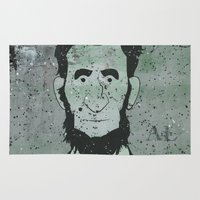 lincoln Area & Throw Rugs featuring Lincoln by Doren Chapman