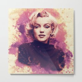 Monroe Metal Print