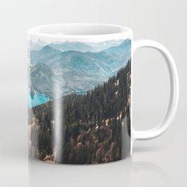 Mountains and lake Coffee Mug