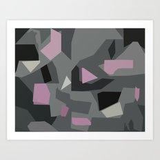 Langley Pink Art Print