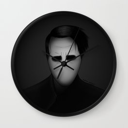 The Pale Emperor Wall Clock