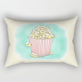 Buck-Corn Chicken Rectangular Pillow