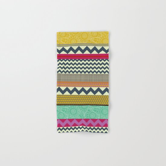 New York Beauty stripe Hand & Bath Towel