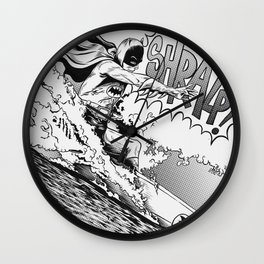 Bat Shred Wall Clock