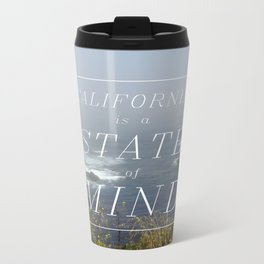 California is a State of Mind Metal Travel Mug