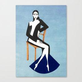 Henri Matisse inspired fashion #1 Canvas Print