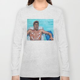 Billy Madison - Adam Sandler Painting Long Sleeve T-shirt