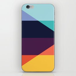 Colorful pattern XVIII iPhone Skin