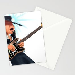Stevie Ray Vaughan Stationery Cards
