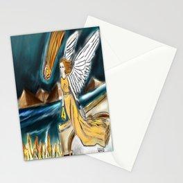 Karmic Angel of Fire Stationery Cards